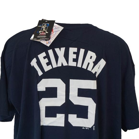 buy popular 80711 c5c41 Mark Teixeira #25 New York Yankees T Shirt Boutique